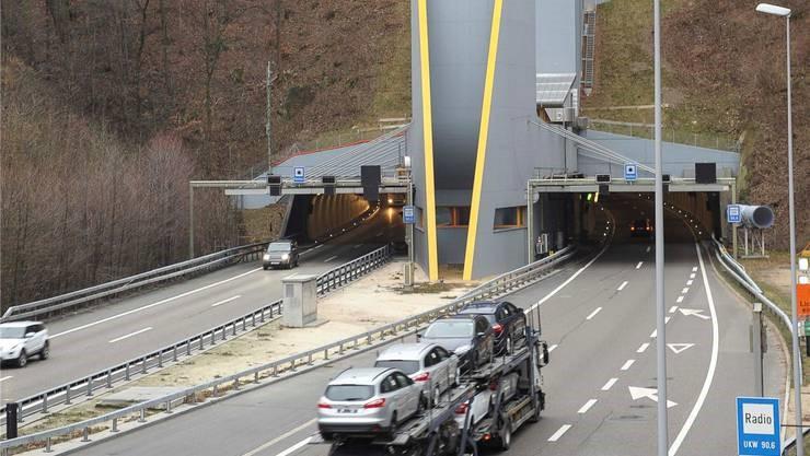 Sanierungstunnel Belchen STB